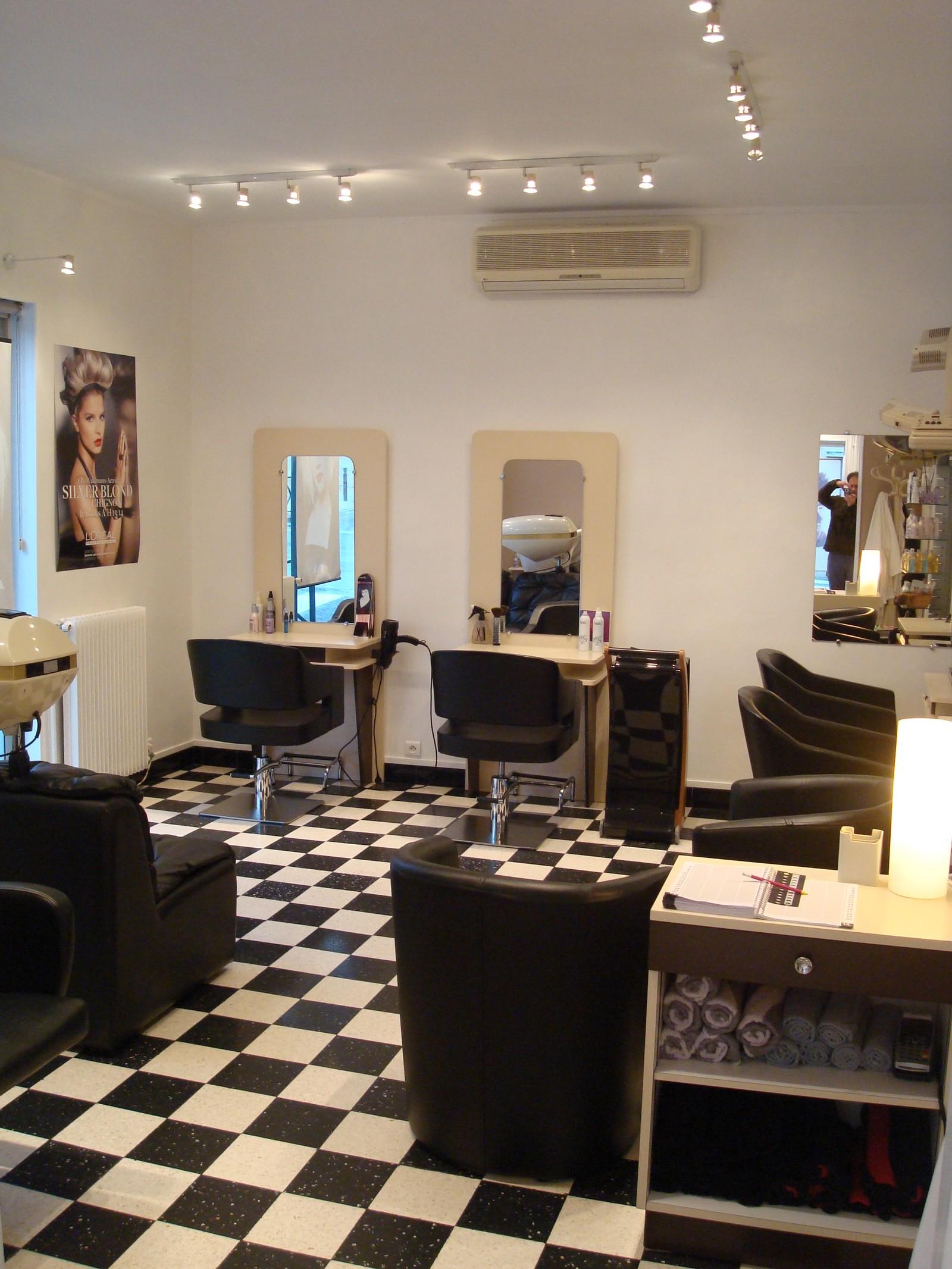 Accueil coiffure gabriel laurendeau for Accueil salon de coiffure